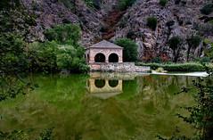 River Reflections (Jocelyn777) Tags: river reflections waterreflections riotajo toledo spain travel green foliage