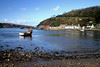 Fishguard, Pembrokeshire, Wales, UK (Tracey Matthews0) Tags: boat sea harbour water bluesky wintersun colourfulbuildings pebbles