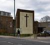 Leytonstone Methodist Church (London Less Travelled) Tags: uk unitedkingdom england britain london eastlondon urban suburb suburbia church methodist cross