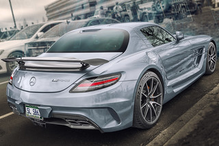 Mercedes-Benz SLS AMG Black Series (Cars & Coffee of the Upstate)