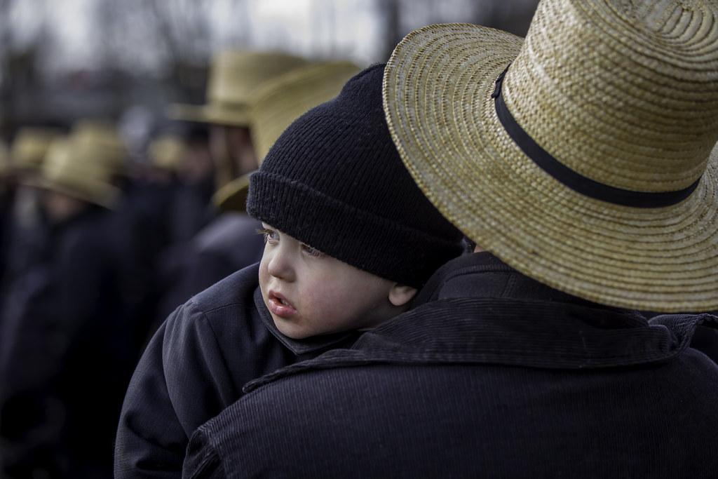 abab20f7996 Amish Boy (crabsandbeer (Kevin Moore)) Tags  winter amish children farm hats
