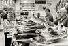 Butcher Shop _3956 (hkoons) Tags: bayofbiscay westerneurope atlantic butcher europe european iberia oviedo spain spanish bacon coast coastal cured fish ham hog market meat ocean pig pork port purchase sea store vendor