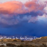 Mystic Clouds: Split Mountain In the Anza-Borrego Desert Timelapse thumbnail