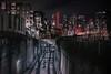 Above Below (Keoni Cabral) Tags: city cityskyline downtown downtownsandiego infrastructure night nightlights sandiego skyline tracks transit trolley urban california unitedstates us explore inexplore