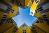 Rotterdam - Kijk Kubus (Eero Capita) Tags: rotterm kijk kubus architecture nikon d7100 1020 dx sigma city trip lines