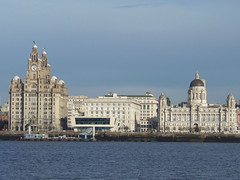 The Three Graces, Liverpool, England (teresue) Tags: 2017 england uk greatbritain liverpool merseyside pierhead rivermersey threegraces royalliverbuilding cunardbuilding portofliverpoolbuilding