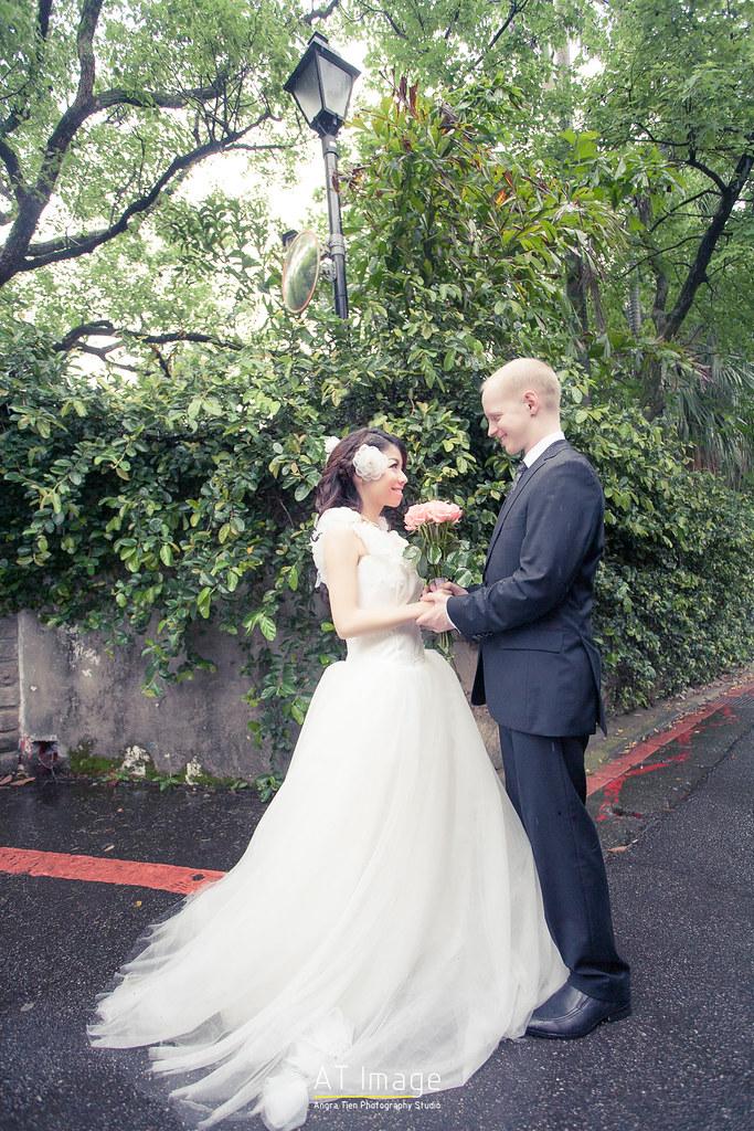 <婚紗> Alex & Minjie / 淡水 真理大學