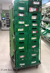 Challenge Friday, week 10, theme stack - stacked veg crates in Waitrose (karenblakeman) Tags: caversham uk challengefriday cf18 march stack waitrose supermarket crates reading berkshire