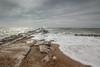 Hengistbury groyne (iscook72) Tags: hengistbury head groynes groyne sea beach sand coast dorset christchurch bournemouth wave rock sky dramatic reflection sun cloud movement water