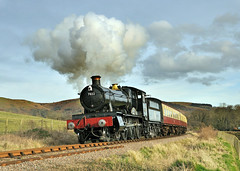 7822 Foxcote Manor. (johncheckley) Tags: d90 uksteam loco steam railway manor train