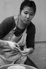 Pottery Class ll (Fojo1) Tags: candidandstreetphotography peoplephotography blackandwhitephotography
