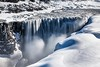 Dettifoss Iceland (Einar Schioth) Tags: dettifoss winter water waterfall snow sunshine day canon cliff canyon frost vividstriking nationalgeographic ngc nature landscape photo picture outdoor iceland ísland ice einarschioth