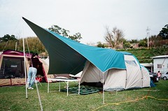2018_0224_Camping (Linux Wang) Tags: yashica t2d 苗栗 泰安 fujifilm superia 400
