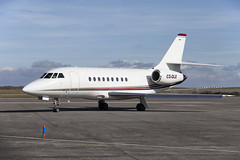 Photo of Dassault Falcon 2000EX CS-DLE Newquay 20-3-18 IMG_6450