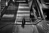 Inside (Norbert Clausen) Tags: ubahn subway bw sw architektur architecture futuristic futuristisch