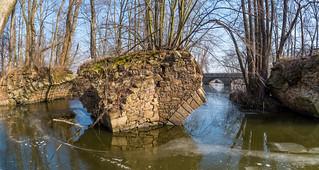 Alte Spreebrücke in Niedergurig