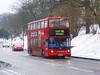 SLN 17860 - LX03NFE - WATLING STREET BEXLEYHEATH - FRI 2ND MAR 2018 (Bexleybus) Tags: snow stagecoach london 17860 lx03nfe tfl route 96 watling street bexleyheath kent adl dennis trident alx400 alexander