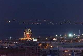 BAIA DI ALGERI    ----    ALGIERS BAY BY NIGHT