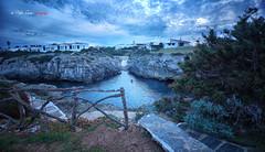 (115/18) Y unos minutos antes ... (Pablo Arias) Tags: pabloarias photoshop photomatix capturenxd españa cielo nubes arquitectura roca cala mar mediterráneo amanecer enforcat ciudadela menorca