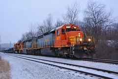 B&P 307 Leads Mixed Freight. Butler, PA (bobchesarek) Tags: bp bprr freight