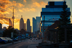 Globe & Mail Building (A Great Capture) Tags: sidestreet sky urban city evening architecture building globemail toronto dusk sundown sunset agreatcapture agc wwwagreatcapturecom adjm ash2276 ashleylduffus ald mobilejay jamesmitchell on ontario canada canadian photographer northamerica torontoexplore winter l'hiver 2018 downtown lights urbanscape eos digital dslr lens canon 70d colours colors colourful colorful light sun sunny sunshine sunlight fire atardecer cityscape scenery scenic himmel ciel outdoor outdoors vibrant cheerful vivid bright streetphotography streetscape photography streetphoto street calle skyline towers tower buildings clouds golden