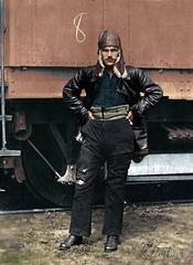 Kuznetsov, aviator of the First cavalry army, 1920 | Кузнецов - летчик Первой Конной армии, 1920 (klimbims) Tags: aviator 1920 russia ussr firstcavalryarmy летчик перваяконнаяармия