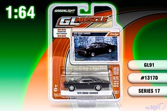 1-64_Greenlight_GL_Muscle_Series_17_Dodge_Charger (Sigi D) Tags: 164 fast furious fastfurious greenlight glmuscle diecast dodge charger dominic toretto blown blower 1970