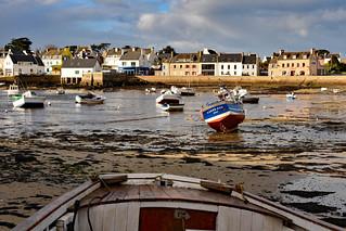 Portsall / Le Port / Low tide