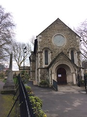 St Pancras Old Church (My photos live here) Tags: london capital city england iphone 5s st pancras old church gardens drive somers town euston camden north hs2
