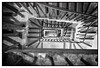 Wellington's Stairwell (Dr Kippy) Tags: wellingtonarch london stair staircase stairwell bw blackandwhite mono monochrome canon100d canonefs24mmf28