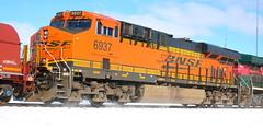BNSF 6937, Stroebe, Fox Crossing, 7 Mar 18 (kkaf) Tags: foxcrossing stroebe a447 bnsf es44c4