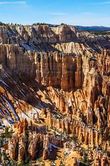 "Wall of Windows (James Marvin Phelps) Tags: utah brycecanyonnationalpark nationalpark brycecanyon snow wallofwindows""hoodooswinter landscapephotographynatureoutdoorsphotographyjmp photographyjames marvin phelps james pjmp photography"