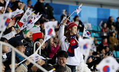 Paralympic_IceHockey_Korea_Italy_10 (KOREA.NET - Official page of the Republic of Korea) Tags: 평창 2018평창동계패럴림픽 강릉시 강릉하키센터 강릉올림픽파크 파라아이스하키 아이스하키 2018pyeongchangwinterparalympic paralympics icehockey gangneunghockeycenter bronzemedalgame