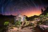 Paisajes canarios nocturnos (juapero) Tags: grancanaria canaryisland islascanarias paisaje noche night nightscape juapero colors cielo circumpolar star startrails