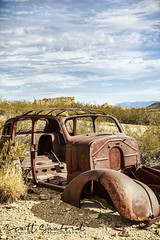 Desert Dodge (Scott Sanford Photography) Tags: old abandoned historic ghosttown texas bigbend terlingua sky clouds colors desert rusty canon eos ef2470mmf28lusm 6d travel trip roadtrip vacation springbreak weathered