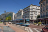 140818_Grenoble_314 (Rainer Spath) Tags: frankreich france auvergnerhônealpes isère tramway strasenbahn tram trams trolley električky streetcars semitag tag alstom tfs2 placedelagare
