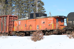 WC caboose (MrLuebeck) Tags: wc cn caboose ac wc18 wgn spooner excnw