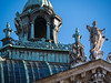 Justitia (bayernphoto) Tags: münchen munich justiz palast justitia gerechtigkeit recht zentrum gericht waage schwert himmel gebäude justice law gesetz bayern bavaria sonnig blauer statue figur