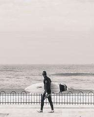 Franco (- The Geordie Pilot -) Tags: surfer surf surfboard surfing telaviv israel shortboard waves beach blackandwhite mediterranean simplelife