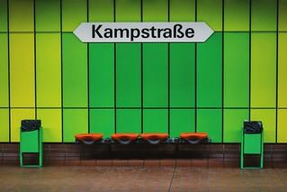 Colors from the 80s Dortmund-Kampstraße