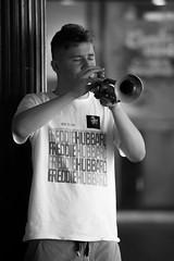 Trumpet man (Cranamanor13) Tags: melbourne streetphotography street music musician instrument trumpet busker