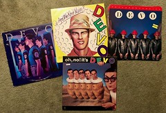Loud Shots from the Big Spud Gun (Daniel Dyer) Tags: devo vinyl records vintage music new wave nerd geek collection collectables old nerdy stuff turntable 80s 90s 00s 1980s whip it good