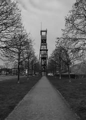 Erin Park (wpt1967) Tags: bergbau castroprauxel eos6d erinpark förderturm industriekultur ruhrgebiet ruhrpott schacht7 bw canon28mm coalmining mining sw wpt1967