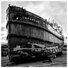 Spartan aground , Irvine (wwshack) Tags: ayrshire irvine scotland scottishmaritimemuseum spartan puffer parahandytales neilmunro vic18