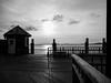 dusk (Web-Betty) Tags: bnw newyork nyc newyorkcity blackandwhite monochrome dusk twilight sunset