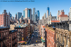 Madison Street (20180311-DSC01891) (Michael.Lee.Pics.NYC) Tags: newyork madisonstreet chinatown manhattanbridge aerial lowermanhattan wtc onewtc worldtradecenter cityhall municipalbuilding architecture cityscape sony a7rm2 zeissloxia21mmf28