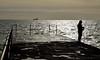 MAR_1813_00005 (Roy Curtis, Cornwall) Tags: uk cornwall porthleven the pier silhouette seaside sea coast