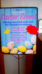 Easter is on the way! SS 365/138 (Maenette1) Tags: easter event sign jacksfreshmarket menominee uppermichigan signsunday flicker365 michiganfavorites project365