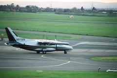 Mitsubishi Mu-2 N973BB (egbjdh) Tags: christhorpe archives egbj staverton gloucester