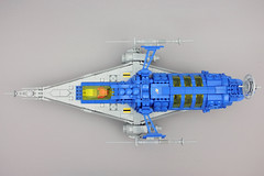 LL 228 Long Range Scout - top view (hhcBrick) Tags: lego spaceship